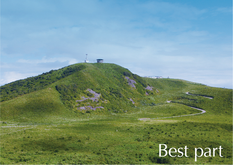 Best part 寒風山や、入道岬、美しい景色が望める八望台