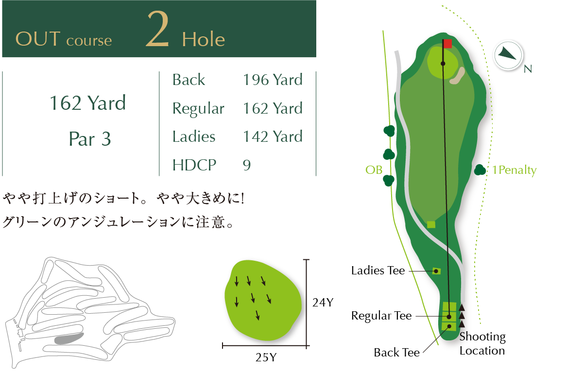 Out course Hole 2