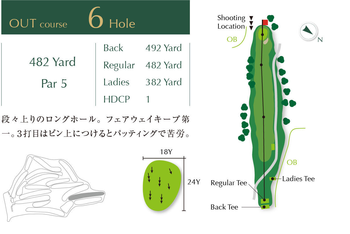 Out course Hole 6