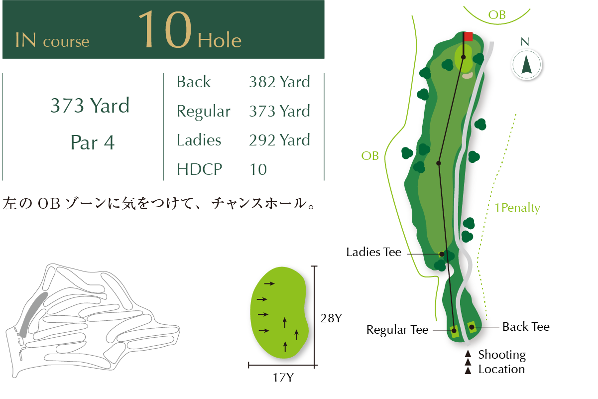 Out course Hole 10