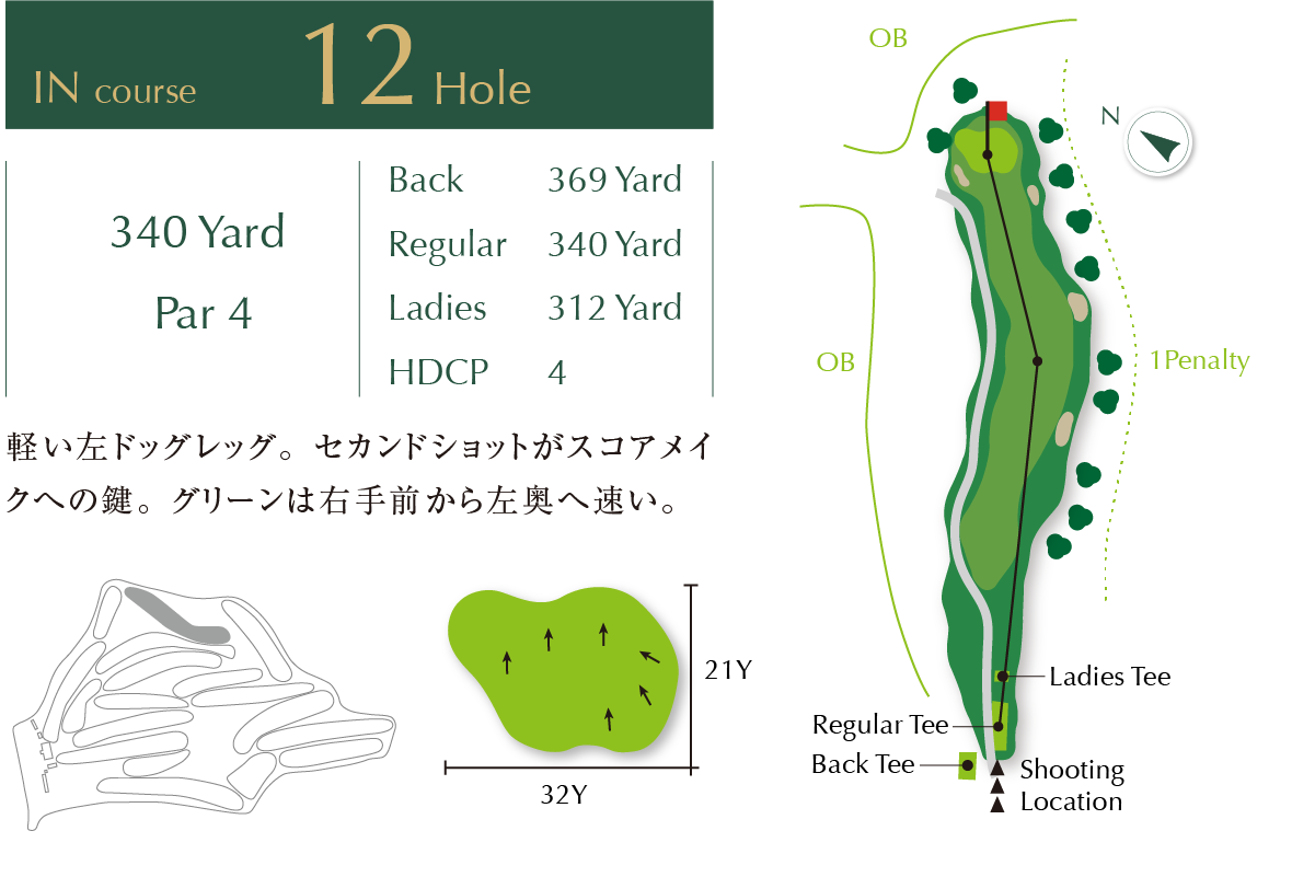 Out course Hole 12