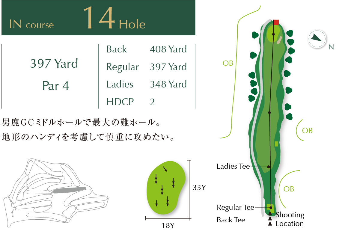 Out course Hole 14