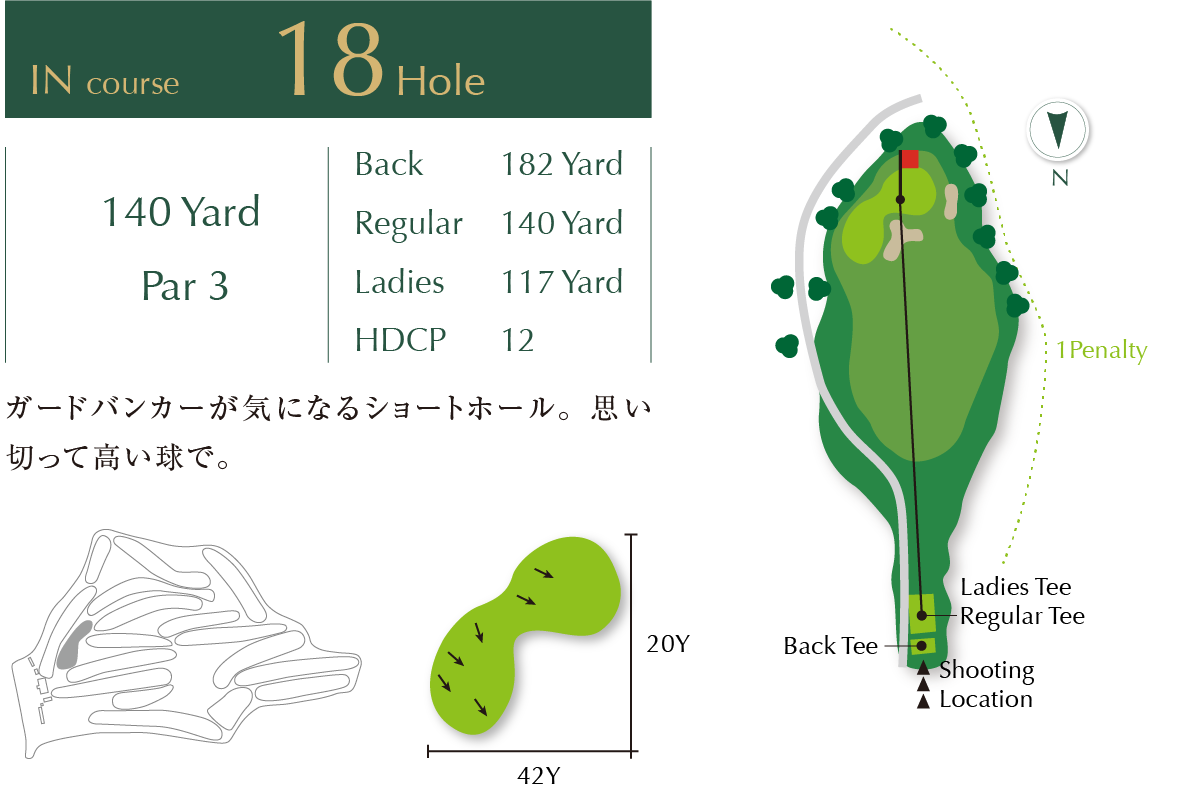 Out course Hole 18